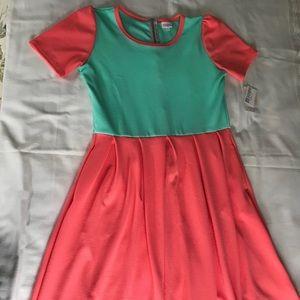 LuLaRoe Dresses - NWT LulaRoe Dress with POCKETS! Size XL💫 FUN!